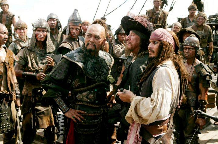 Welcher Pirat will was? Die grosse Frage des Films.