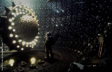 Im Luxus-Raumschiff